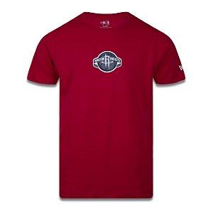 Camiseta New Era Houston Rockets NBA Team Area Vermelho