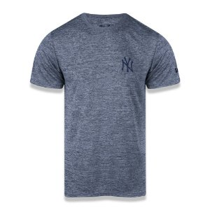 Camiseta New Era New York Yankees MLB Tech Globe Cinza