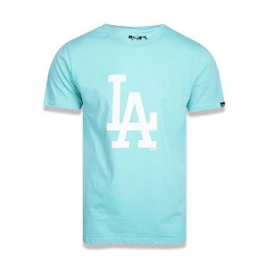 Camiseta New Era Los Angeles Dodgers Basic Duo MLB Verde