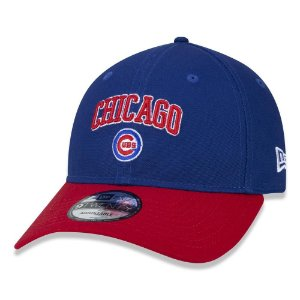 Boné New Era Chicago Cubs 920 College Worldmark Aba Curva