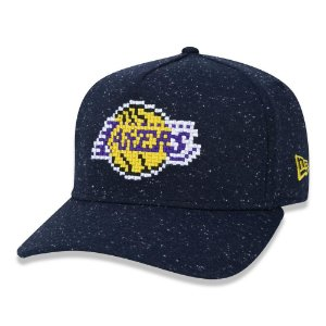 Boné New Era Los Angeles Lakers NBA 940 A-Frame Space Star