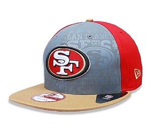 Boné San Francisco 49ers 950 Snapback Draft Reflective - New Era