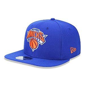 Boné New Era New York Knicks 950 Primary NBA aba reta azul