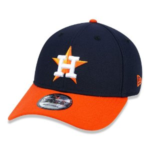 Boné New Era Houston Astros 940 Team Color aba curva marinho