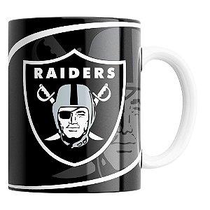 Caneca NFL Las Vegas Raiders de Porcelana 325ml
