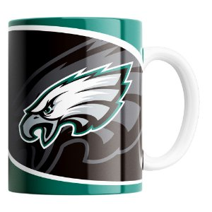 Caneca NFL Philadelphia Eagles de Porcelana 325ml