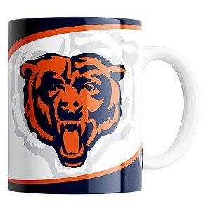 Caneca NFL Chicago Bears de Porcelana 325ml