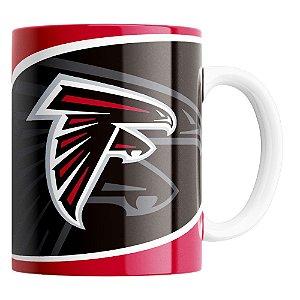 Caneca NFL Atlanta Falcons de Porcelana 325ml