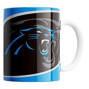 Caneca NFL Carolina Panthers de Porcelana 325ml