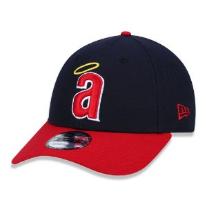 Boné New Era California Angels MLB 940 Team Color aba curva