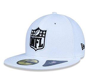Boné Logo NFL 5950 - Branco New Era