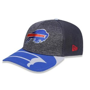 Boné New Era Buffalo Bills 3930 Spotlight Draft Aba Curva