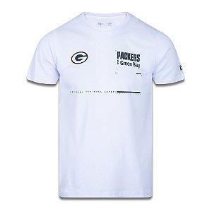 Camiseta New Era Green Bay Packers Tech Simple Branco