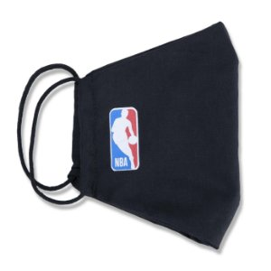 Máscara New Era NBA Logoman Lavável Preto