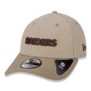 Boné New Era Las Vegas Raiders 940 Military Aba Curva Kaki