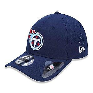 Boné New Era Tennessee Titans 920 Sideline Aba Curva Azul