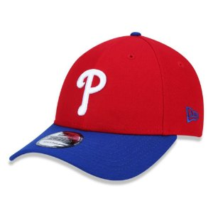 Boné New Era Philadelphia Phillies 940 Team Color Aba Curva