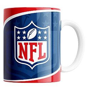 Caneca NFL Logo de Porcelana 325ml