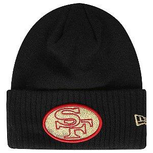 Gorro Touca San Francisco 49ers Gold Logo - New Era