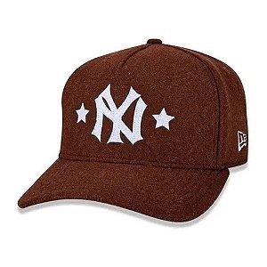 Boné New Era New York Yankees 940 Heritage Stars Aba Curva