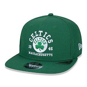 Boné New Era Boston Celtics 950 College Blocked Aba Reta