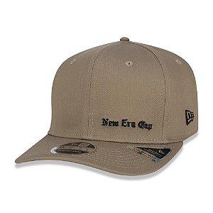 Boné New Era 950 Black Squad Cap Aba Curva Kaki