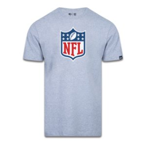 Camiseta New Era Logo Time NFL Cinza