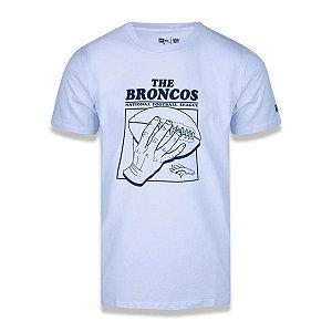Camiseta New Era Denver Broncos NFL Street Hand Ball Branco