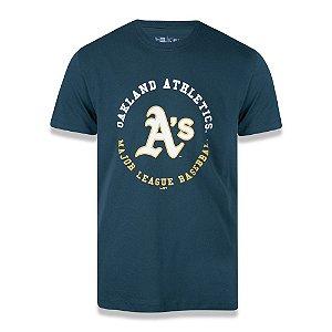 Camiseta New Era Oakland Athletics MLB College Baseball