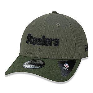 Boné New Era Pittsburgh Steelers NFL 940 Military Olive