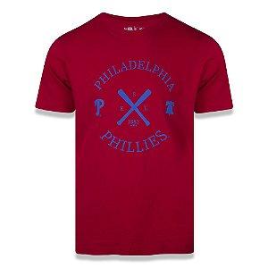 Camiseta New Era Philadelphia Phillies MLB College Bat
