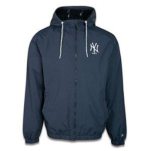 Jaqueta Corta Vento New Era New York Yankees Sazonal Cinza