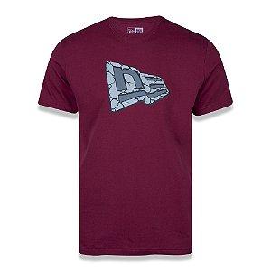 Camiseta New Era Trick me Rock Bordô