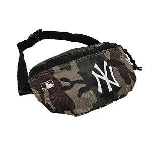 Pochete Waist Bag New Era New York Yankees MLB Camuflado