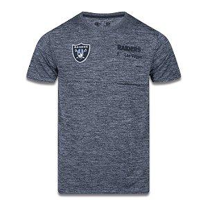 Camiseta New Era Las Vegas Raiders NFL Tech Simple Cinza