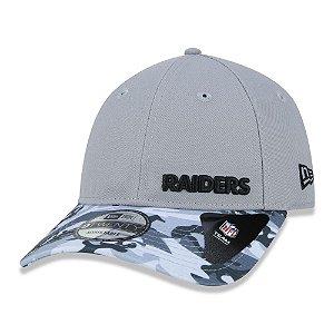 Boné New Era Las Vegas Raiders NFL 920 Military Gray