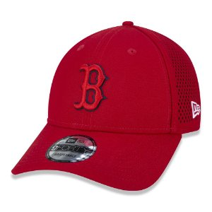 Boné New Era Boston Red Sox MLB 940 Tech Overlap Aba Curva