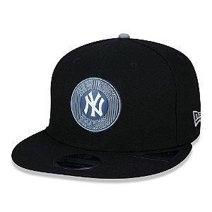 Boné New Era New York Yankees MLB 5950 College Tpu Aba Reta