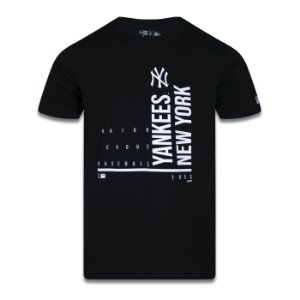 Camiseta New Era New York Yankees MLB Hashtag One Preto