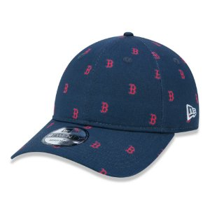 Boné New Era Boston Red Sox MLB 940 Injection Luxe Aba Curva