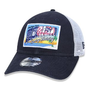 Boné New Era New York Yankees MLB 920 Trucker Spring Azul