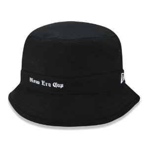 Chapéu Bucket New Era Black Squad Cap Preto