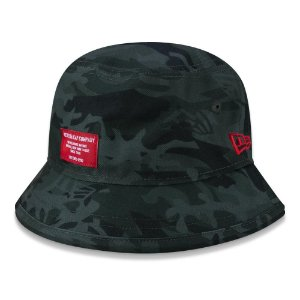 Chapéu Bucket New Era Military Full Print Camuflado