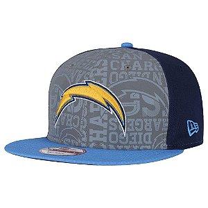 Boné San Diego Chargers 950 Snapback Draft Reflective - New Era