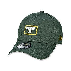 Boné New Era Green Bay Packers NFL 940 Urban Label Aba Curva