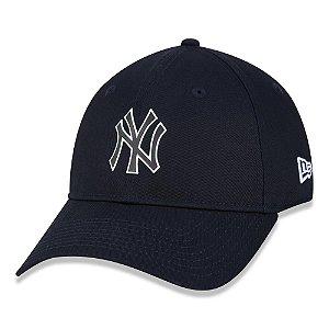 Boné New Era New York Yankees MLB 920 Rave Space Aba Curva