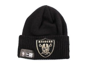 Gorro Oakland Raiders Gold Logo - New Era