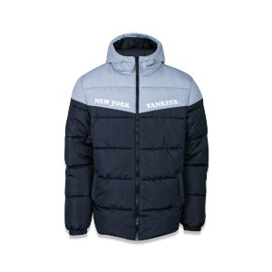 Jaqueta Puffer New Era New York Yankees MLB College Quilted