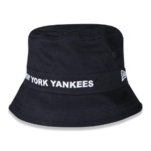 Chapéu Bucket New Era New York Yankees MLB Core Script