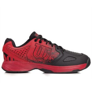 Tenis Wilson Ultimate Masculino Vermelho e Preto